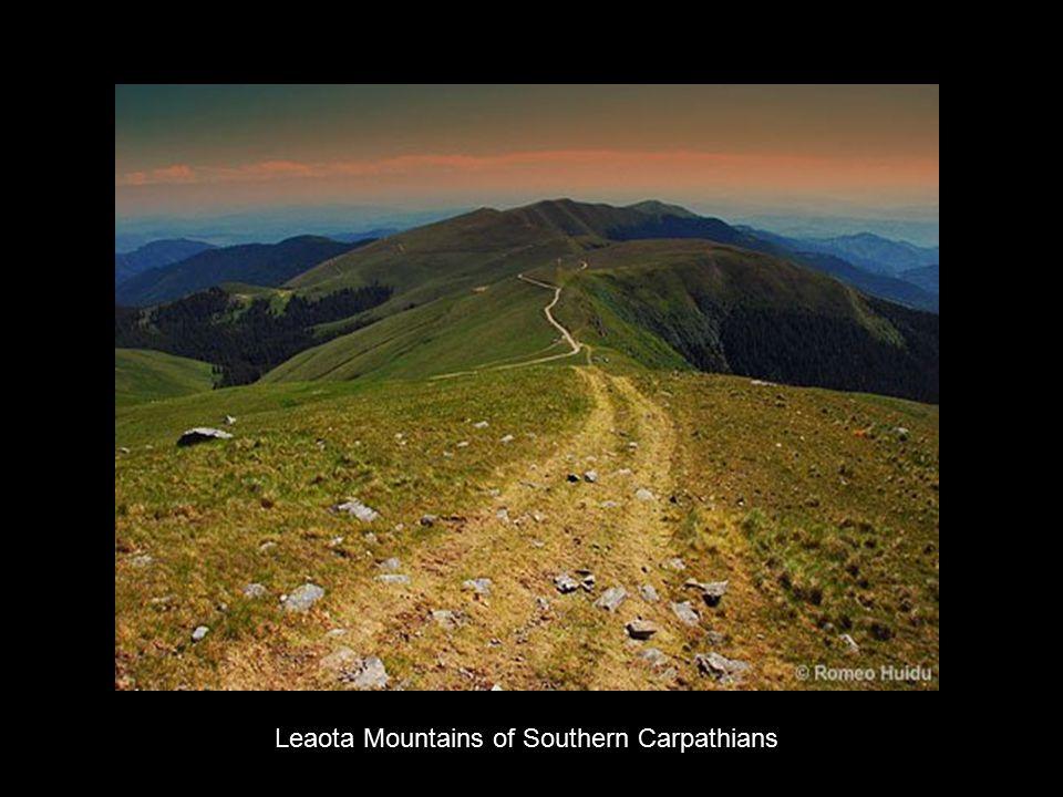 Leaota Mountains of Southern Carpathians