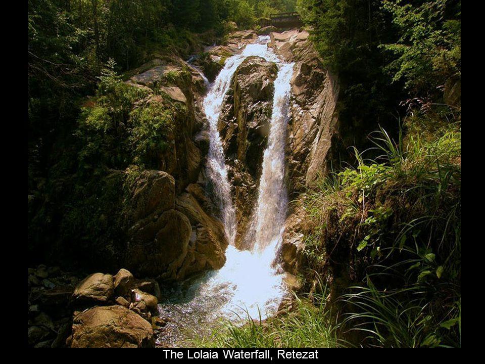 The Lolaia Waterfall, Retezat
