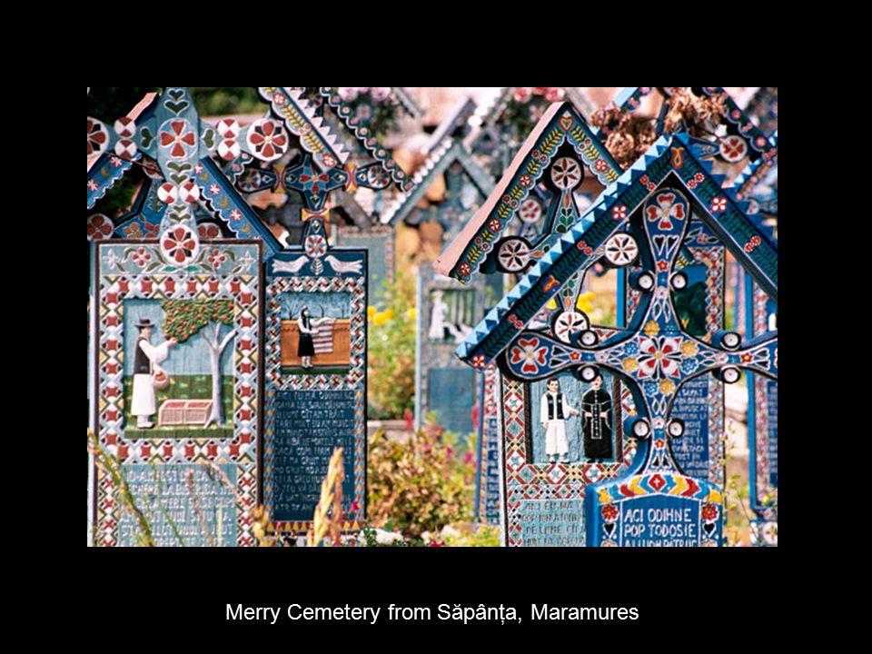 Merry Cemetery from Săpânţa, Maramures