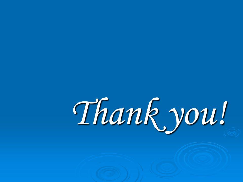 Thank you! Thank you!