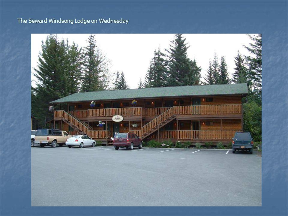 The Seward Windsong Lodge on Wednesday