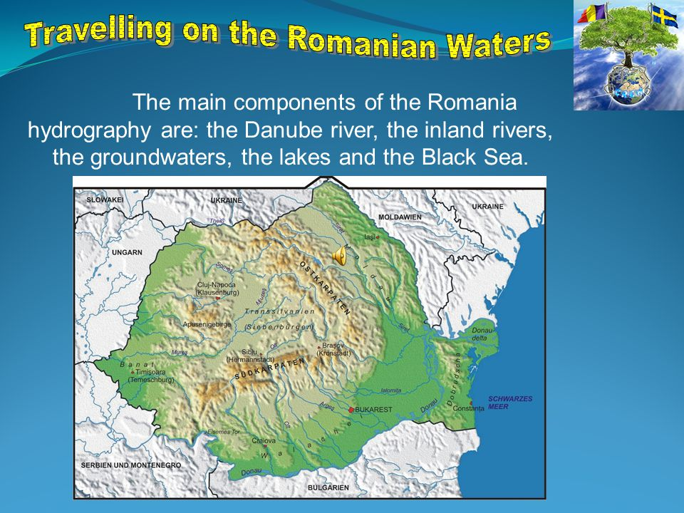  The most important European river, in terms of complexity, crosses the central and eastern Europe and flows into the Black Sea through a delta (the Danube Delta).