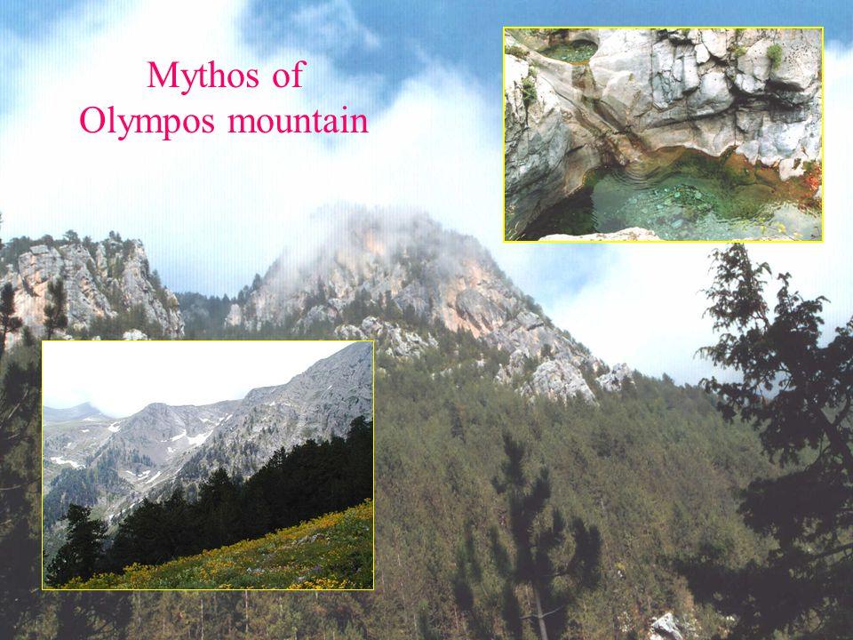 Mythos of Olympos mountain