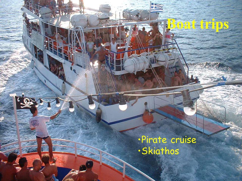 Boat trips Pirate cruise Skiathos