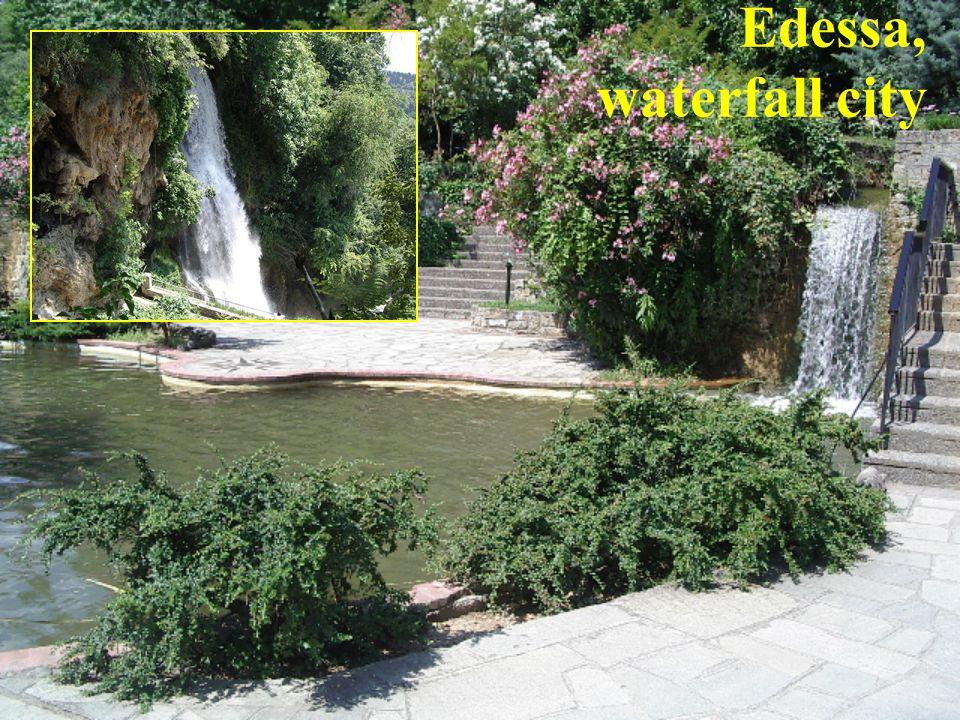 Edessa, waterfall city