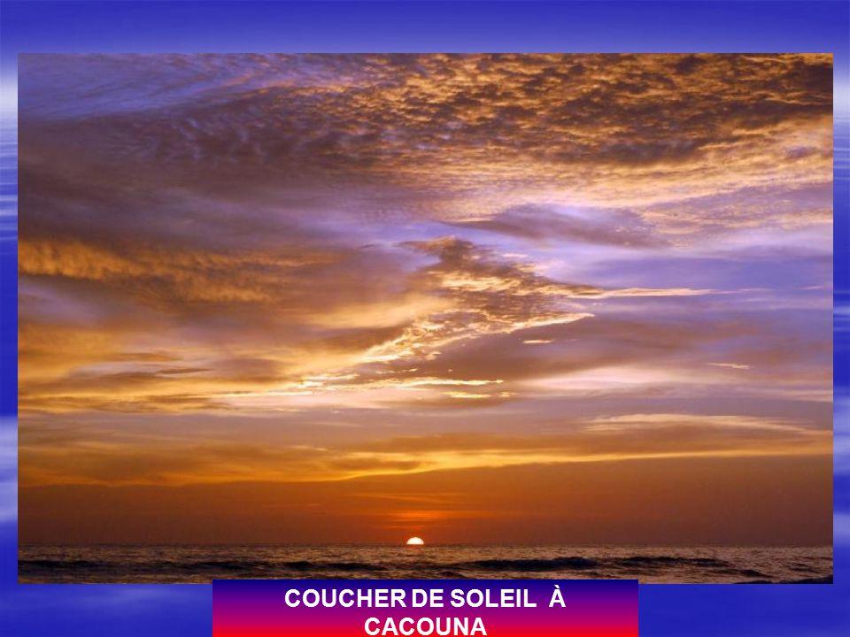 COUCHER DE SOLEIL À CACOUNA