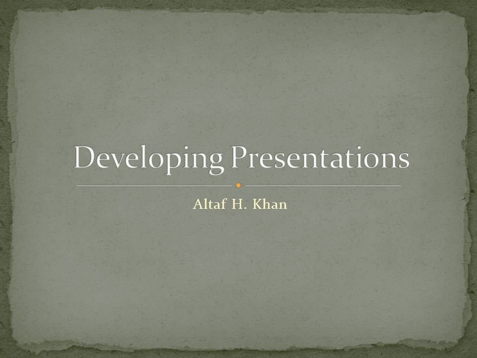 Title slide Overview slide Main body Slide 1 Slide 2 Slide 3 … Summary slide 22 Divide long presentations into sections, and have separate title, overview, summary, body slides for each section