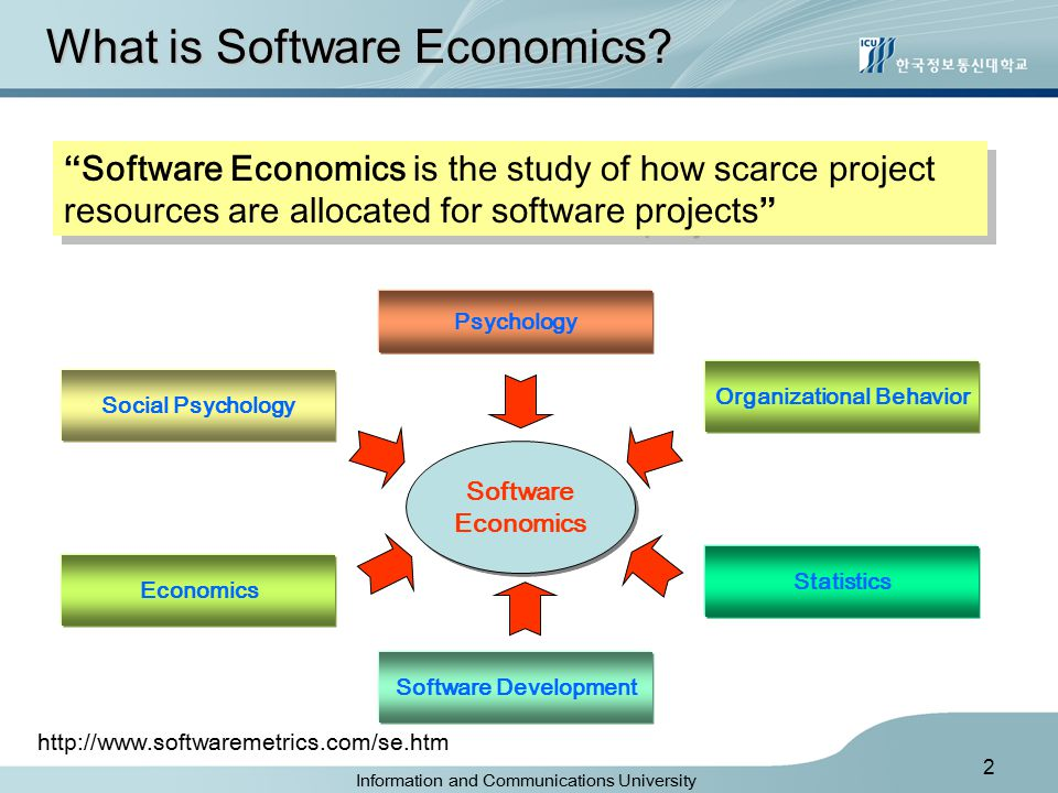 2 What is Software Economics.