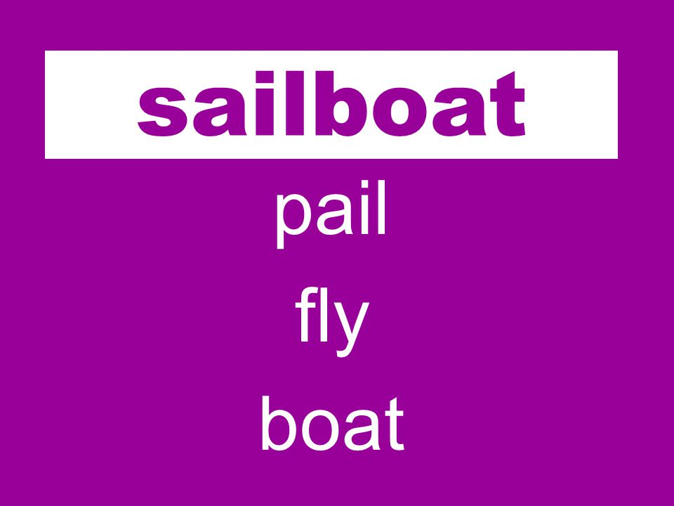 sail pail fly boat sailboat