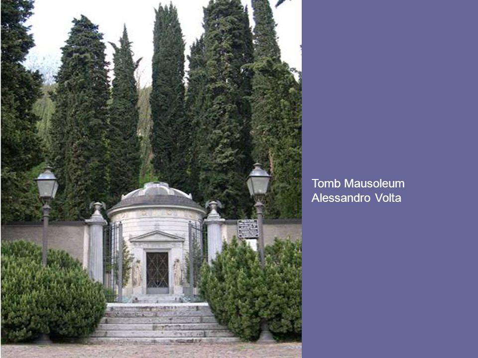 Tomb Mausoleum Alessandro Volta