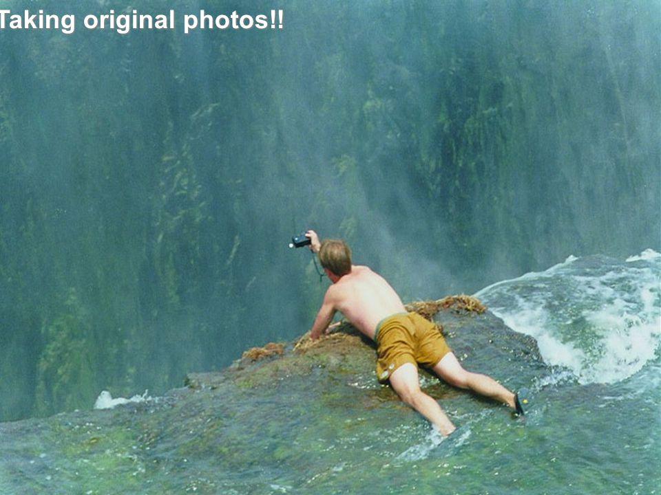 Taking original photos!!