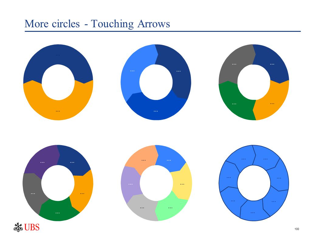 100 More circles - Touching Arrows...