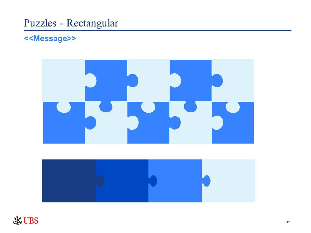 122 Puzzles - Rectangular >