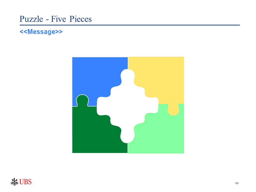 123 Puzzle - Five Pieces >