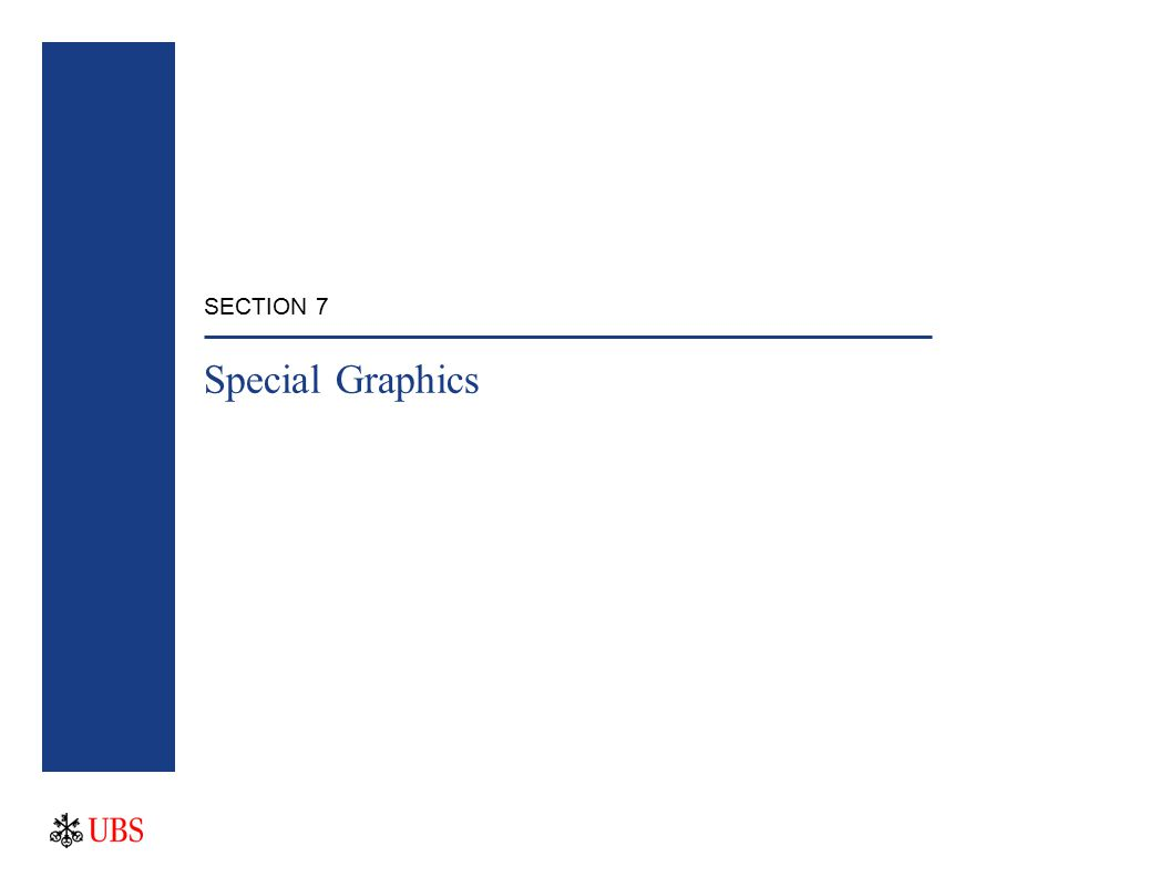 SECTION 7 Special Graphics
