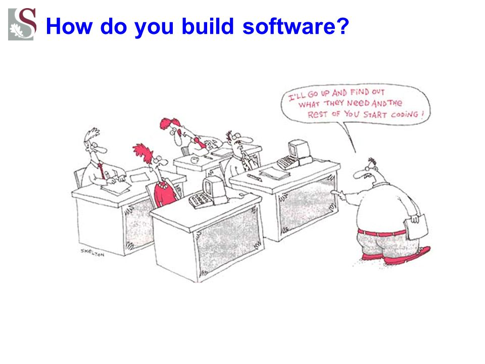 How do you build software