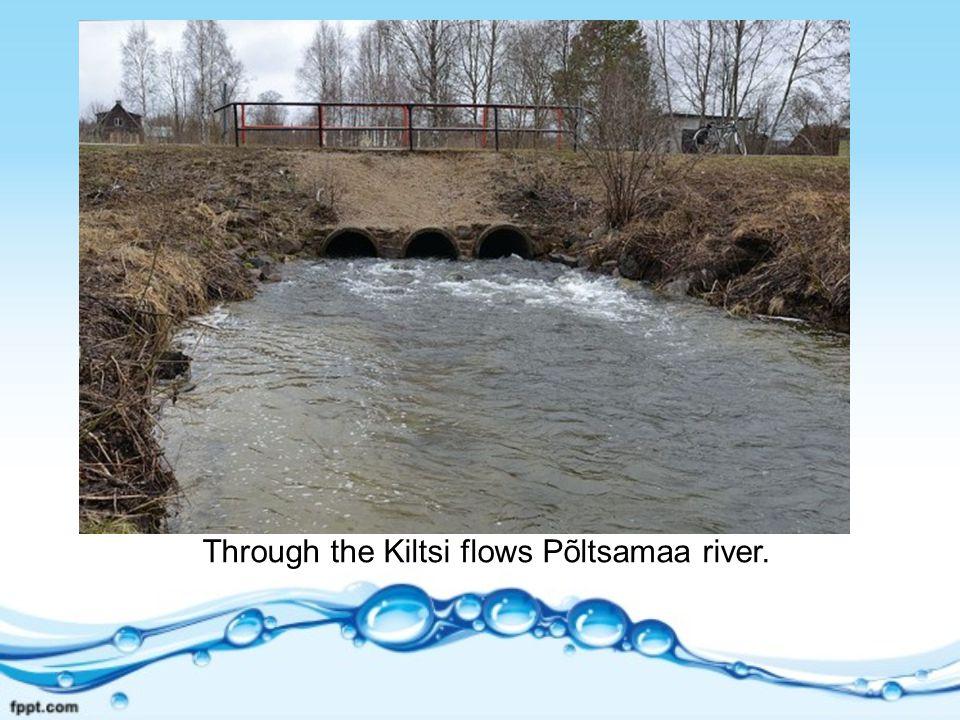 Through the Kiltsi flows Põltsamaa river.