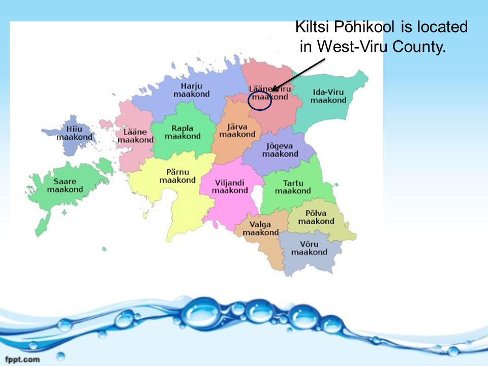Kiltsi Põhikool is located in West-Viru County.