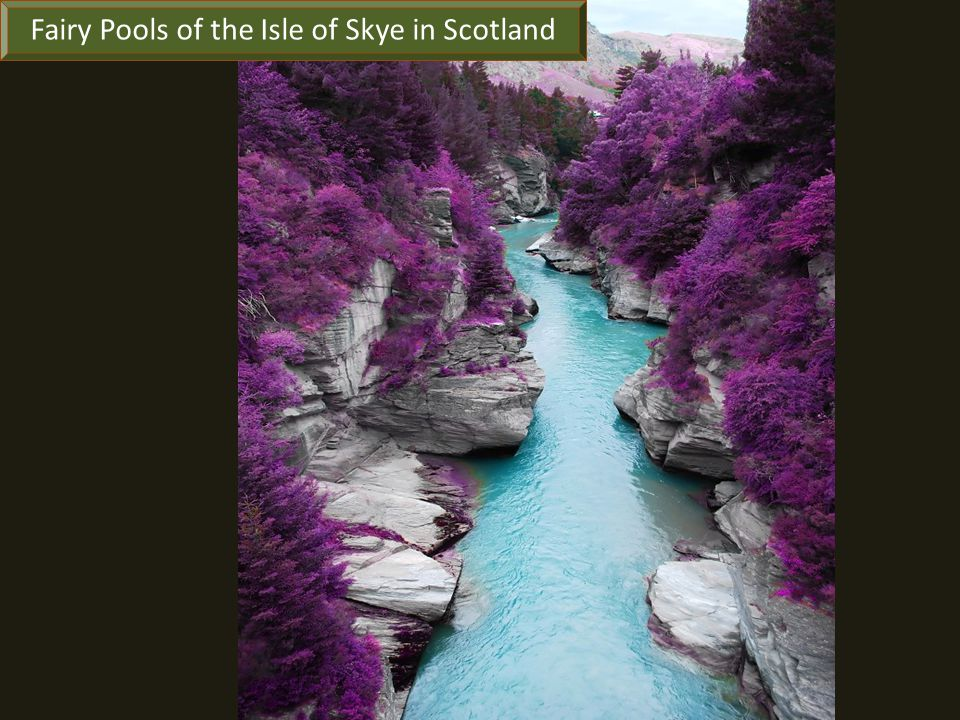 Fairy Pools of the Isle of Skye in Scotland