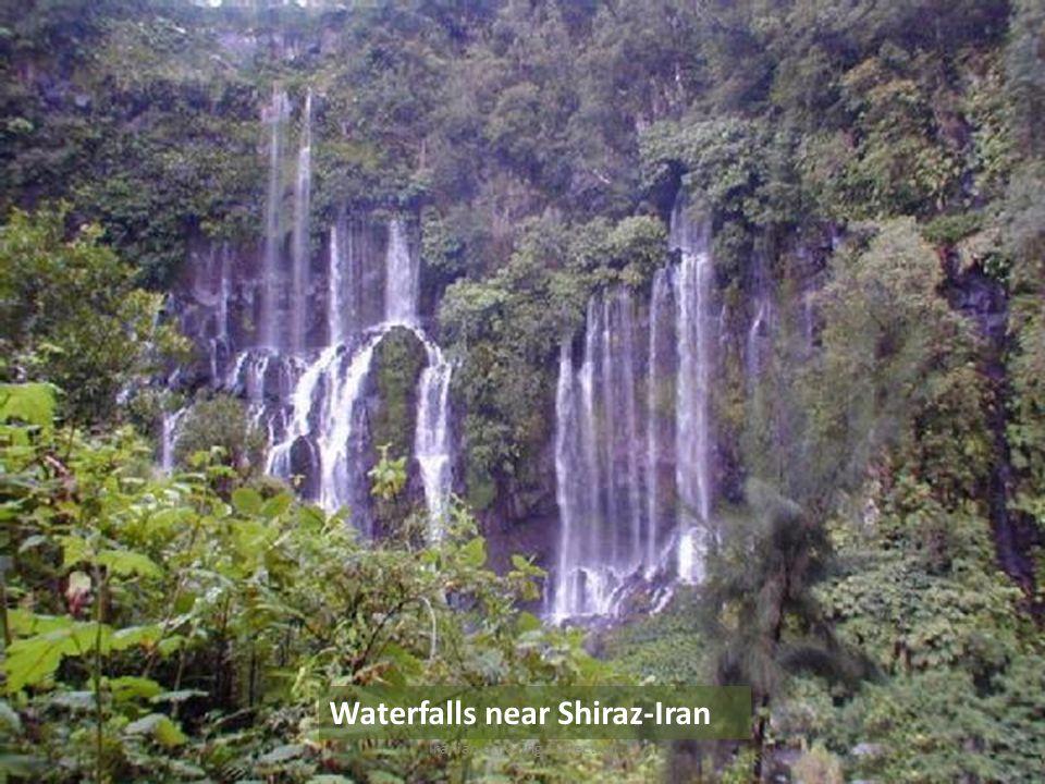 Waterfalls near Shiraz-Iran Iranian Amazing Collection