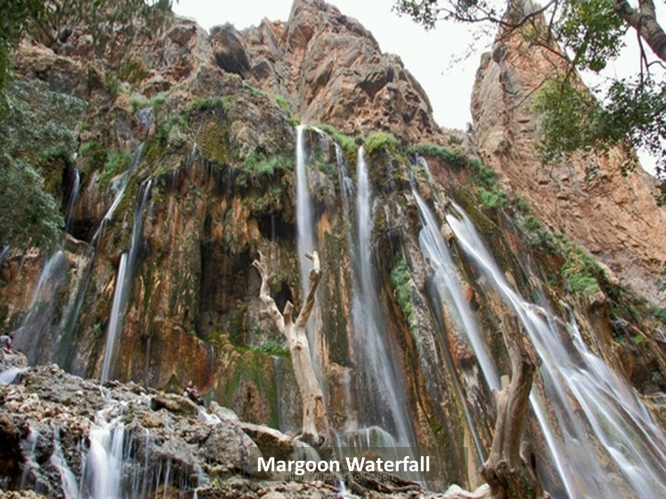 Margoon Waterfall Iranian Amazing Collection