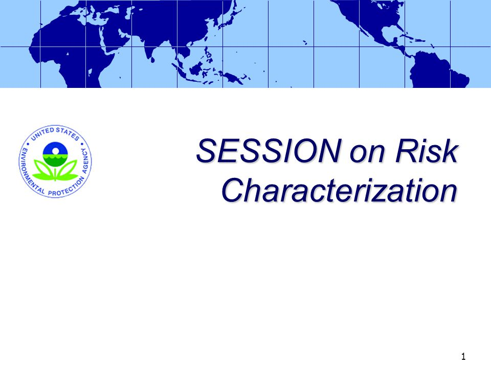 Session 5-2 Risk Characterization David Miller Chemist (USPHS) Health Effects Division Office of Pesticide Programs