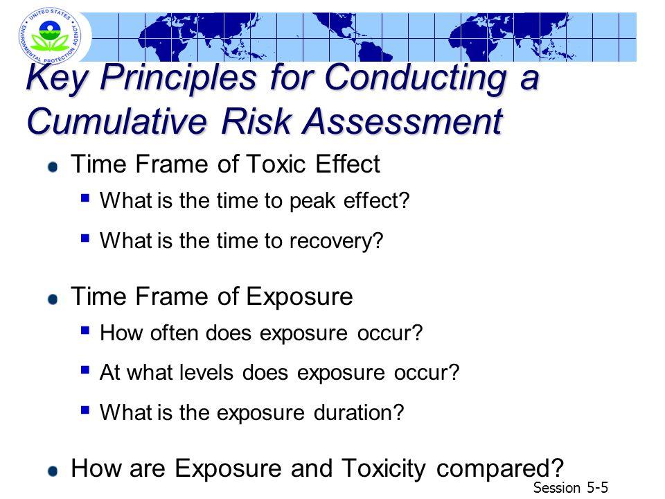Session 5-16 Example Exposure Scenarios Discussion NOTE: The example exposure scenarios will be provided on transparencies