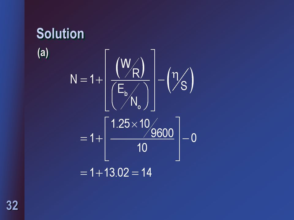 32 SolutionSolution (a)(a)