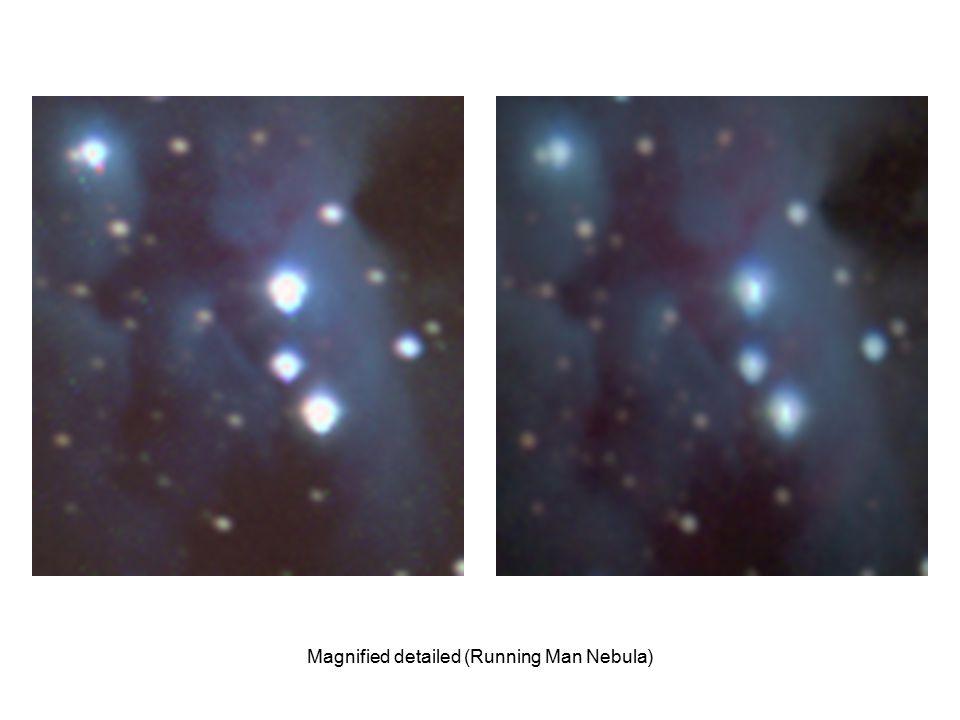 Magnified detailed (Running Man Nebula)