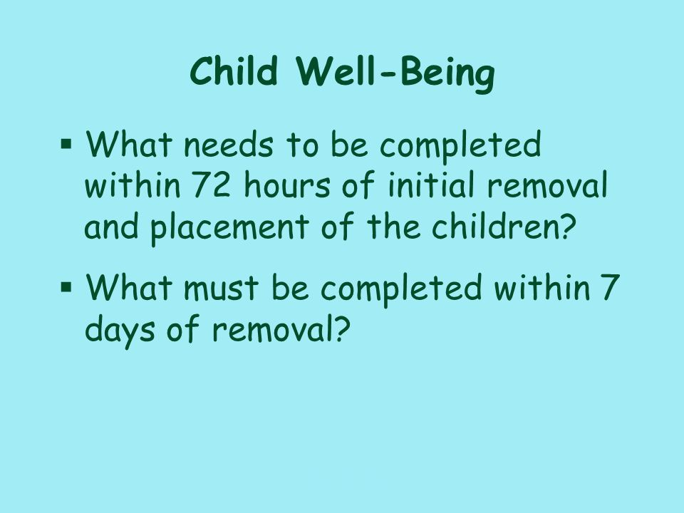 117_PAT_CM_010110 Placement Activities §What are requirements for contacts with the child and adoptive family.