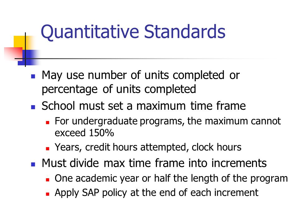 Specific Issues (cont'd) How do you determine SAP for a student who dropped during the second week and received a PWD.