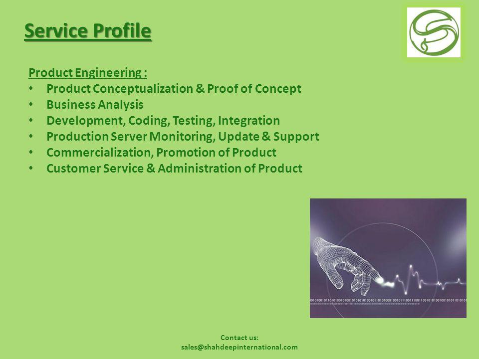 Contact us: sales@shahdeepinternational.com SEO – Flow Diagram