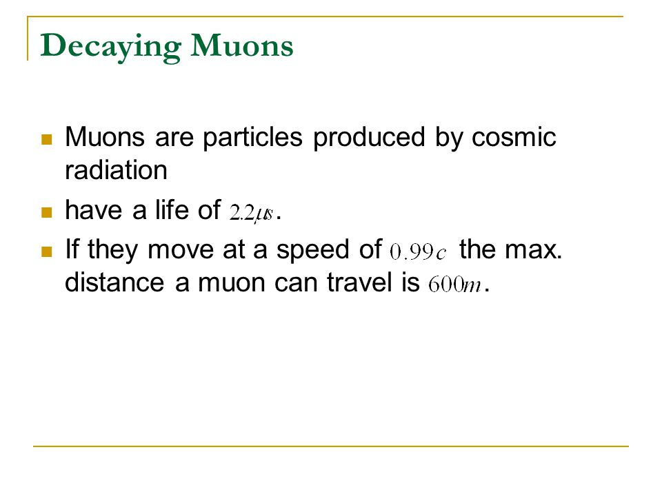 Muons are particles produced by cosmic radiation have a life of. If they move at a speed of the max. distance a muon can travel is.