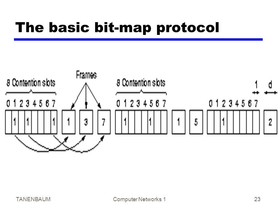 TANENBAUMComputer Networks 123 The basic bit-map protocol