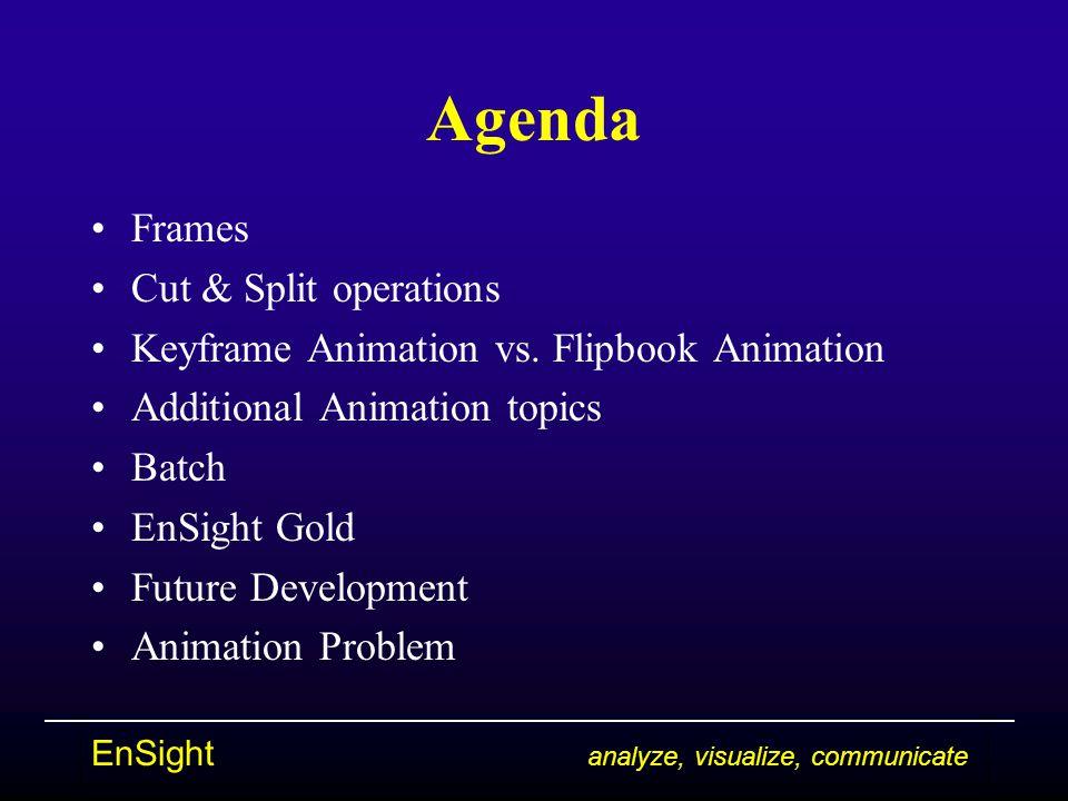 EnSight analyze, visualize, communicate Note!