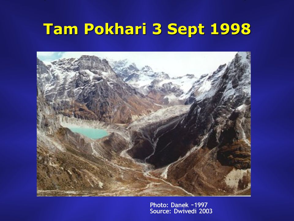 Tam Pokhari 3 Sept 1998 Photo: Danek ~1997 Source: Dwivedi 2003