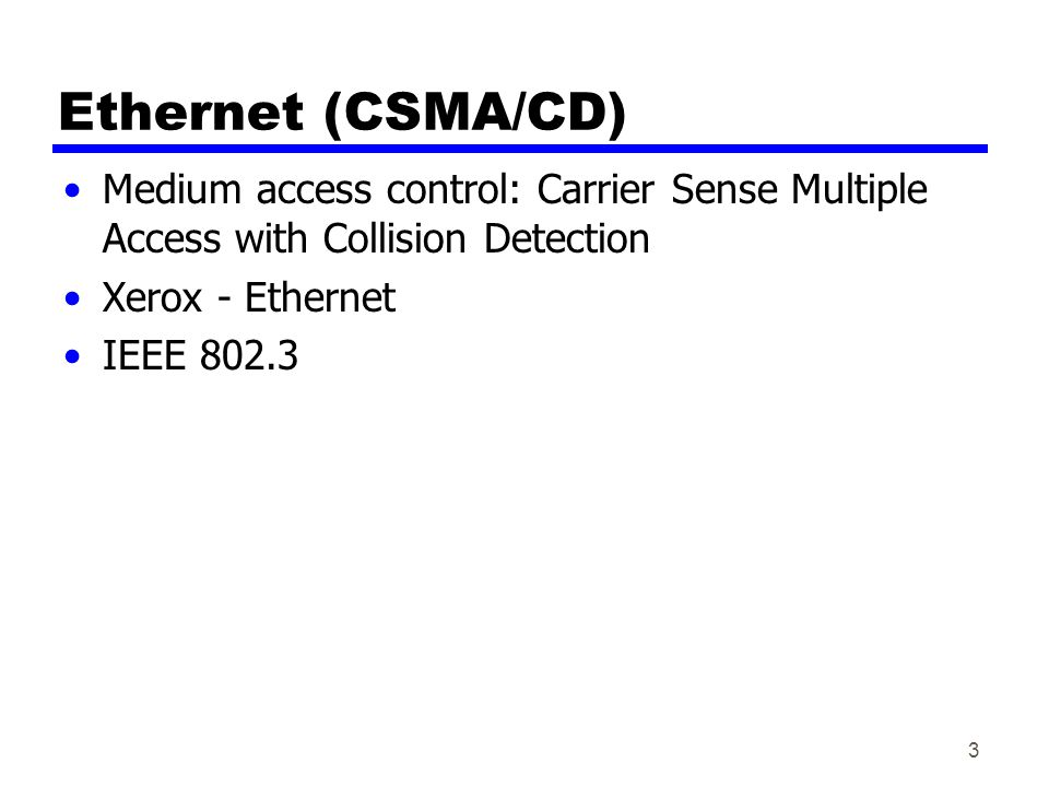 14 CSMA/CD With CSMA, collision occupies medium for duration of transmission  capacity wasted.