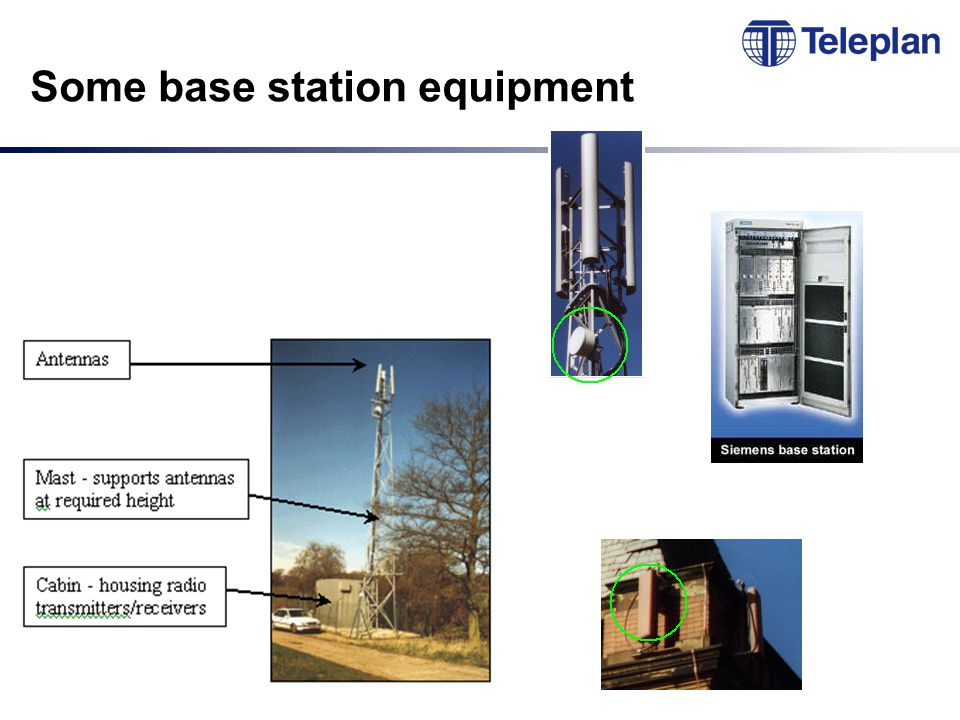 Some base station equipment