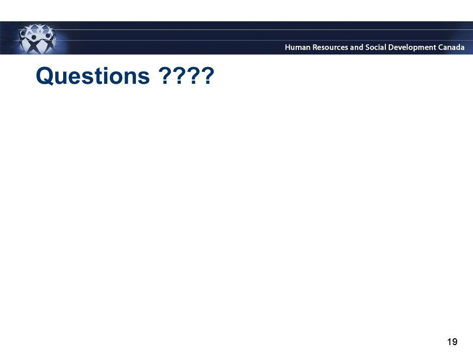 19 Questions ???? 19