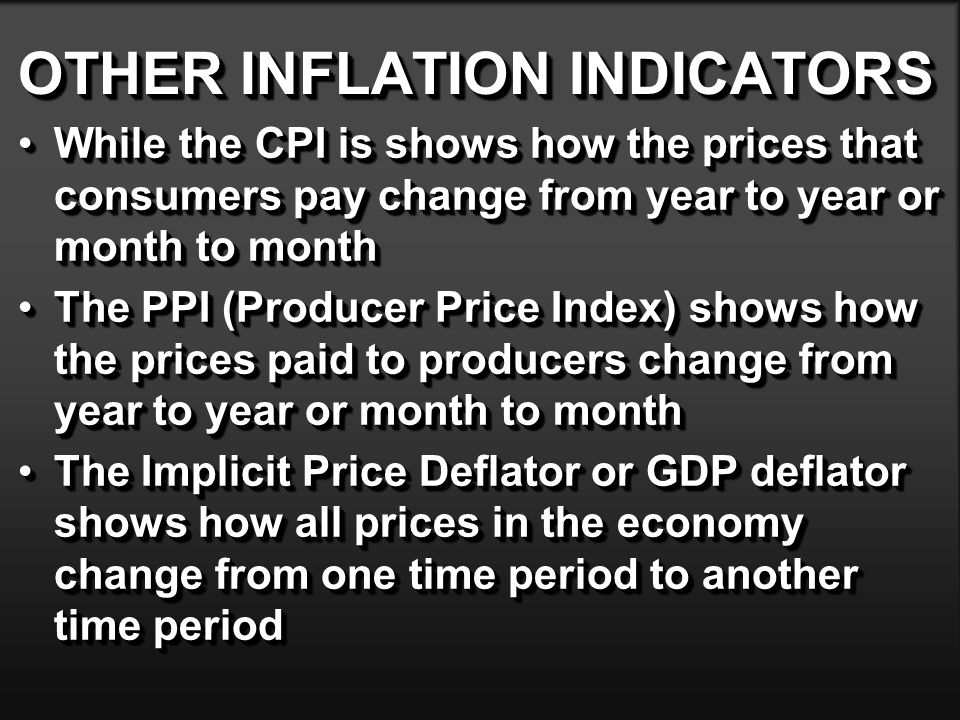 INFLATION-RELATED TERMINOLOGY Actual dollars (A$) - (Current time frame) cash- flow dollars : also current dollars, then-current dollars, or inflated dollarsActual dollars (A$) - (Current time frame) cash- flow dollars : also current dollars, then-current dollars, or inflated dollars Real dollars (R$) - Dollars in terms of purchasing power at some stated time period (i.e., base year): also constant dollarsReal dollars (R$) - Dollars in terms of purchasing power at some stated time period (i.e., base year): also constant dollars Base period (b) - Purchasing-power time referenceBase period (b) - Purchasing-power time reference General price inflation ( f ) - Measure of change in purchasing power from one time to anotherGeneral price inflation ( f ) - Measure of change in purchasing power from one time to another Combined (nominal) interest rate ( i c ) - Market interest rate: actual dollars paid for use of capitalCombined (nominal) interest rate ( i c ) - Market interest rate: actual dollars paid for use of capital Real interest rate - (i r ) - Inflation-free interest rate: real dollars paid for use of capitalReal interest rate - (i r ) - Inflation-free interest rate: real dollars paid for use of capital Actual dollars (A$) - (Current time frame) cash- flow dollars : also current dollars, then-current dollars, or inflated dollarsActual dollars (A$) - (Current time frame) cash- flow dollars : also current dollars, then-current dollars, or inflated dollars Real dollars (R$) - Dollars in terms of purchasing power at some stated time period (i.e., base year): also constant dollarsReal dollars (R$) - Dollars in terms of purchasing power at some stated time period (i.e., base year): also constant dollars Base period (b) - Purchasing-power time referenceBase period (b) - Purchasing-power time reference General price inflation ( f ) - Measure of change in purchasing power from one time to anotherGeneral price inflation ( f ) - Measure of change in purchasing power from one ti