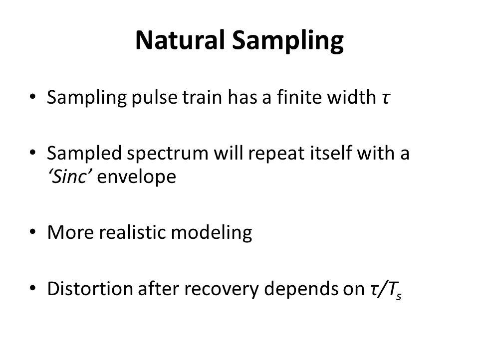 Different Sampling Models