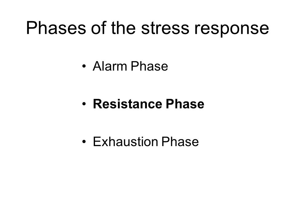 Phases of the stress response –Time frame of hormonal response Modulation of the Stress Response Stress in Humans: How can we cope?