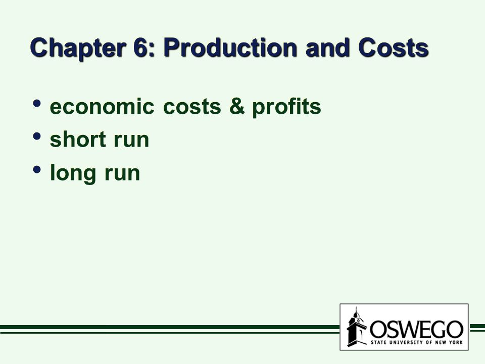 Marginal Cost change in TC due to one-unit increase in output (Q) = change in TC change in Q