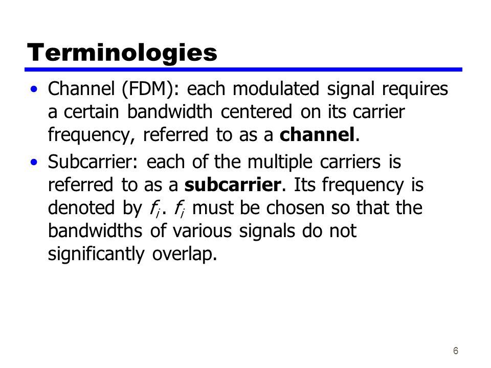 17 Synchronous TDM vs. Statistical TDM