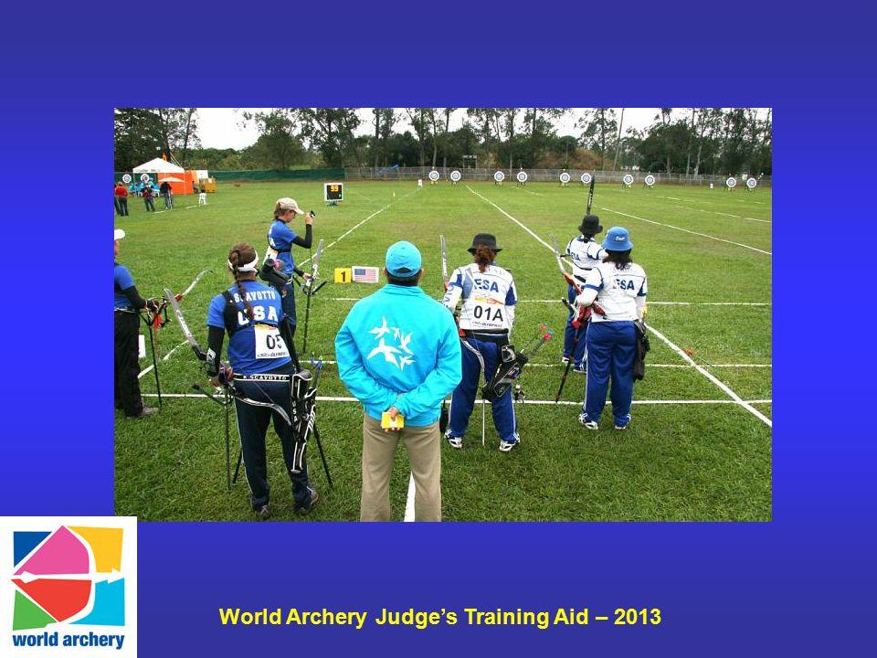World Archery Judge's Training Aid – 2013
