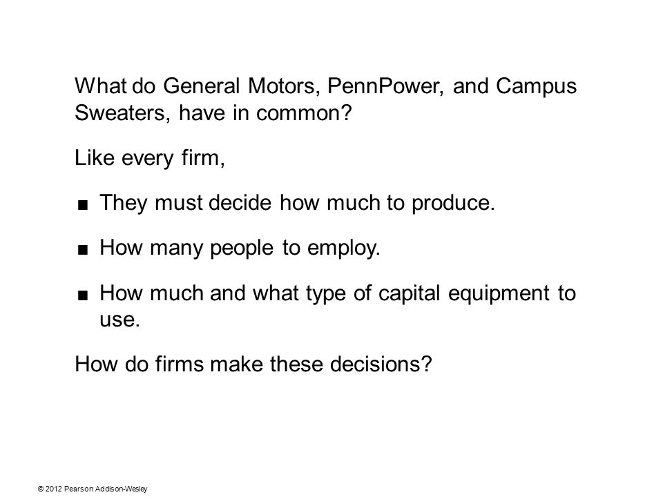 What do General Motors, PennPower, and Campus Sweaters, have in common.
