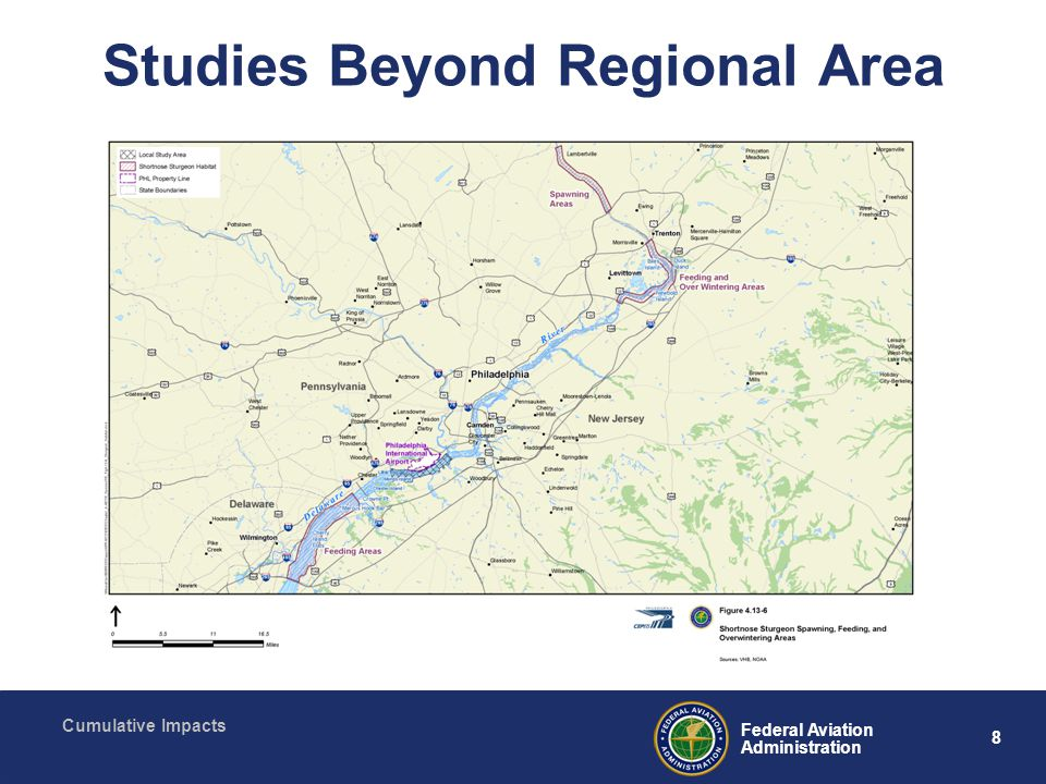 8 Federal Aviation Administration Cumulative Impacts Studies Beyond Regional Area