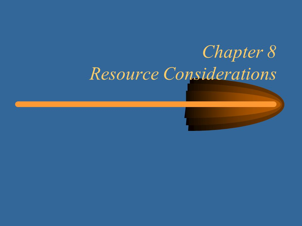 22 Learning Objectives Learn how to take resource constraints into account Determine the planned resource utilization for a project Level the use of resources within the required time frame Determine the shortest project schedule with limited resources