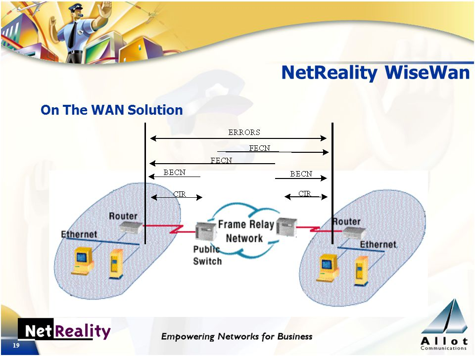 19 NetReality WiseWan On The WAN Solution