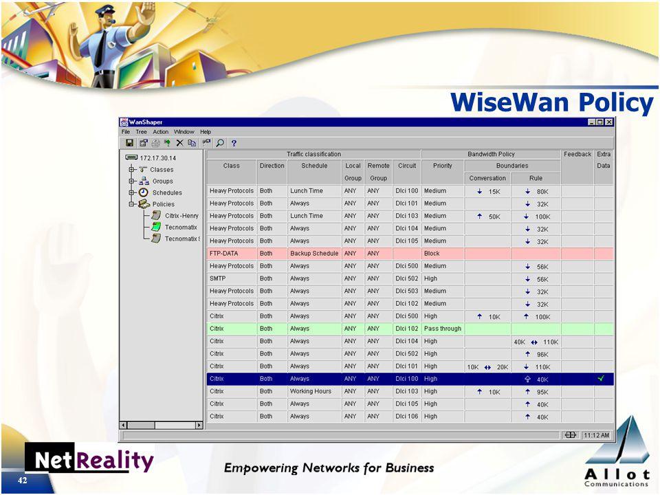 42 WiseWan Policy